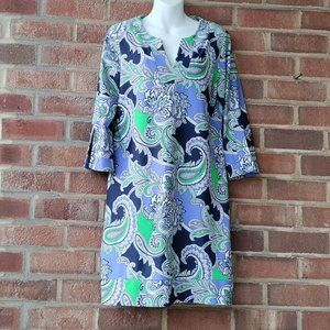 Jude Connally Megan Dress Size Lrge Floral Paisley
